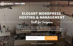 flywheel website bootstrap WordPress hosting