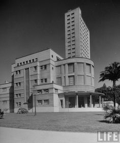 Fotos Antigas de São Paulo em 1947 - By Dmitri Kessel