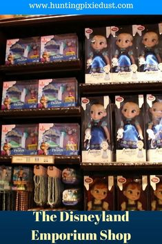 Today we explore the largest shop inside Disneyland, The Emporium. Check out the awesome windows displays and shop for the perfect souvenir. All Disney Parks, Disney Tips, Disney Videos, Walt Disney, Disney Stuff, Disneyland Pins, Disneyland Secrets, Disneyland Resort, Cheap Disney Tickets