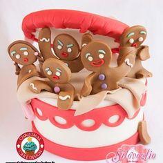 Colazioni a letto: Christmas Cake Design: 1-9 dicembre 2012