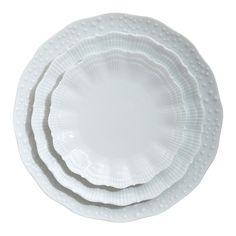 Medard De Noblat Corail Porcelain Dinner Plate