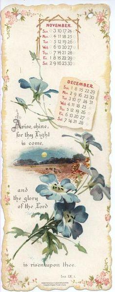 DAILY LIGHT CALENDAR FOR 1901