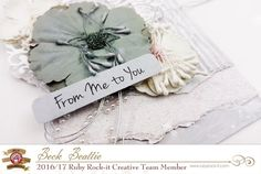 Shabby Chic with a touch of Glitter