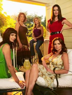 Caterine Bell (Denise Sherwood) , Wendy Davis (COL Joan Burton) , Sally Pressman (Roxy LeBlanc) , Kim Delaney (Claudia Joy Holden) , & Brigid Brannagh (Pamela Moran) - Army Wives