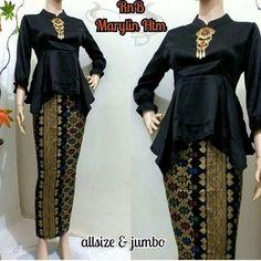Kebaya Batik Muslim Marlyn Prada