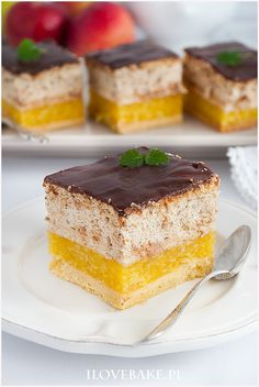 heaven in mouth Polish Desserts, Polish Recipes, No Bake Desserts, Delicious Desserts, Yummy Food, Sweet Recipes, Cake Recipes, Dessert Recipes, Donia