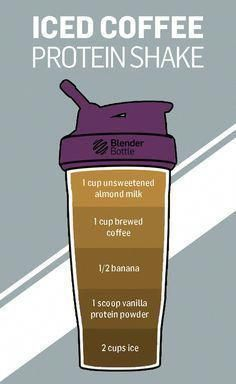 Protein Shake Perfect for a little pick-me-up in the morning.Perfect for a little pick-me-up in the morning. Protein Shake Perfect for a little pick-me-up in the morning.Perfect for a little pick-me-up in the morning. Juice Smoothie, Smoothie Drinks, Healthy Smoothies, Healthy Drinks, Get Healthy, Healthy Shakes, Healthy Iced Coffee, Healthy Coffee Smoothie, Easy Coffee