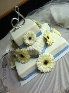 Tosha Anderson Original Gerber Daisy Wedding Cake Gerbera Daisy Wedding Cake