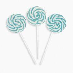 Aqua Blue Swirl Pops