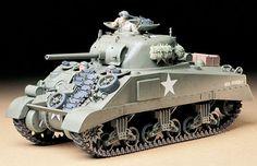 Tamiya U.S Medium Tank M4 Sherman Early Production Tank Kit | Hobbies