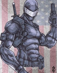 Snake Eyes G.I.Joe by *ChrisOzFulton on deviantART