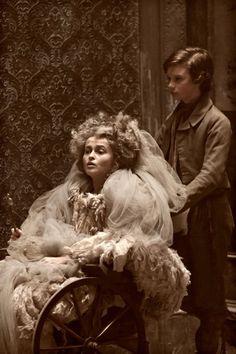 Great Expectations: Helena Bonham Carter as Miss Havisham and Toby Irvine as Young Pip