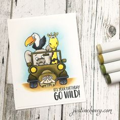 Go Wild with Guest DT Justine Hovey!