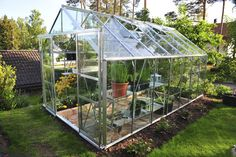 How to Grow in a Small-scale Greenhouse. Ideal for nurturing and protecting plants, personal greenhouses help to extend the harvest season.