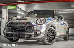 Holographic Chrome wrapped mini by @mlaerc   Promoting Wrappers Around the World   Are You On The Map?   WEB: http://ift.tt/1fC1vAh FB: http://ift.tt/1D7uQxf TWITTER: http://www.twitter.com/wrappermapper  #wrappermapper #worldwraps #carwraps #carwrap #vehicle #vehiclewrap #sportscar #exotic #exoticcar #exoticcars #chrome #chromewraps  #carporn #love #beautiful #beauty #cool #awesome #Porsche #masarati  #lamborghini #bmw #mercedes #bugatti #whips #rollsroyce #audi #lexus