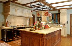 The crowning touch in the kitchen....range hoods! - The Enchanted Home