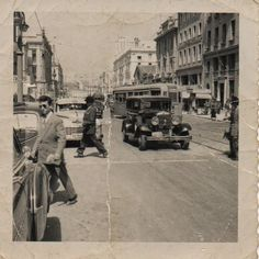 Athens 1953 As Time Goes By, Athens Greece, Street View, History, Vintage, Historia, Vintage Comics