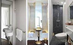 baño pequeño de bloques de concreto rustico - Buscar con Google