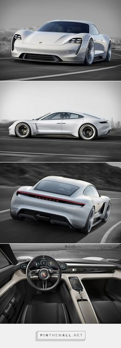 Porsche Mission E Concept - electric 4-door