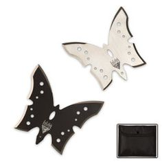 Butterfly throwing stars... Awesome!