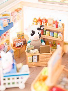 De la ferme au supermarché avec les Sylvanian Families - Blog Lili Célestine