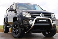 Solid construction with a beautiful finish. Vw Amarok, Pick Up, Offroad, 4x4, Dream Car Garage, Bull Bar, Vw Cars, Sexy Cars, Cars And Motorcycles