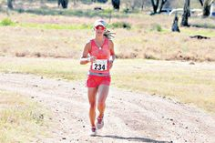 Pippa competing in the Lewa Marathon on June 27, 2015.