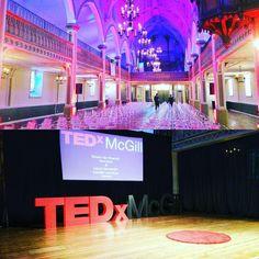 Behind scenes @ TEDxMcGill 2016!  LIVE stream 2:30p EST: http://ift.tt/1pSDZnZ