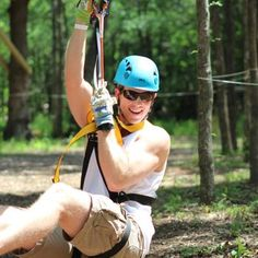betcha didn't know you could go zip lining in dallas :)  #dallas #travel #ziplining #texas