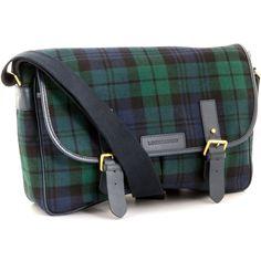 Black Watch Modern Tartan Fabric Leather Large Satchel Shoulder Bag on eBid  Australia 7fefbeeb7e0e1