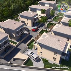Kalisun Villas are 11 beautiful houses in Nea Kallikratia Halkidikis. The villas are for sale and they are located 30 minutes from Thessaloniki Airport. Investment Property, Property For Sale, Thessaloniki, Dubai Uae, Greek Islands, Luxury Living, Villas, Beautiful Homes, Greece