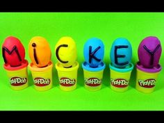 Play Doh Surprise Eggs Mickey Mouse ClubHouse