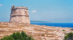 CAP DE BARBARIA TOWERS - FORMENTERA (Balearic Islands, Spain)    Keeping watch over the coasts of Formentera