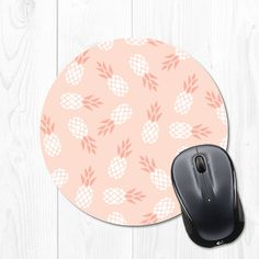 Dont know about you - but I love details like cute mousepads to make my workspace pretty!  This mousepad is 8 inches wide, features a stain resistant polyester fabric top, and a rubber non stick back.  Every mousepad is handmade in my studio with care and attention to detail.  See more mousepads here! https://www.etsy.com/shop/fieldtrip?ref=l2-shopheader-name&search_query=mouse+pad
