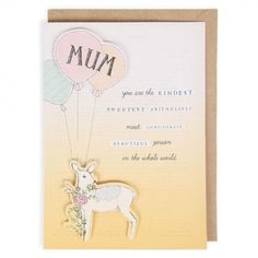 You are the kindest Mother's day card