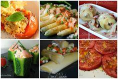 Seis recetas de verduras