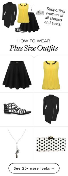 """""""All Sizes Are Beautiful"""" by hanakdudley on Polyvore"""