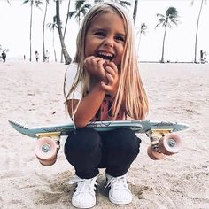 For the first time, women will take part in Mavericks surfing competition Little People, Little Ones, Cute Kids, Cute Babies, Foto Baby, Baby Kind, Skater Girls, Kind Mode, Belle Photo