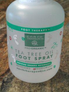 Amazon.com: Tea Tree Oil Foot Spray Combined with Aloe Vera & Wild Mint! New, 118 Ml / 4 Oz: Everything Else