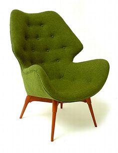 Grant Featherston, B230 Contour Chair, c1953.