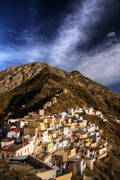 Olympos traditional village in Karpathos Island_ Greece Karpathos, Places In Greece, Greek Isles, Minoan, Greece Islands, Trips, Landscape, Architecture, World