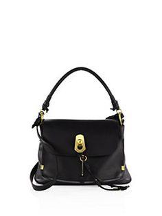 Chloé - Medium Owen Leather & Suede Shoulder Bag