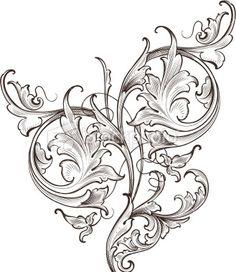 gold leaf scrollwork images - Szukaj w Google