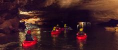 Lost River Cave | Home to the only underground boat tour in the state of Kentucky.