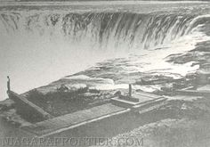 1860's, The Table Rock and the Horseshoe Falls