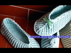 PANTUFAS EM CROCHE AMORE BABY - APRENDER CROCHE - YouTube