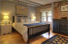 Old Church condo - beautiful Toronto Lofts, Bedroom Loft, Ground Floor, Condo, Flooring, Furniture, Home Decor, Beautiful, Decoration Home