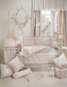 Glenna Jean Florence Crib Bedding Set available at TinyTotties.com