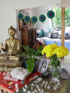 Starting on my own Mandala Prayer Flag set soon... I love this!