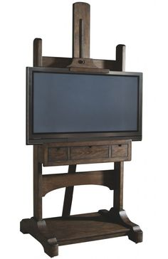 Flat screen tv easel